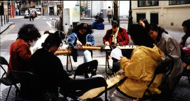1997 Tập đàn ngoài trời Paris